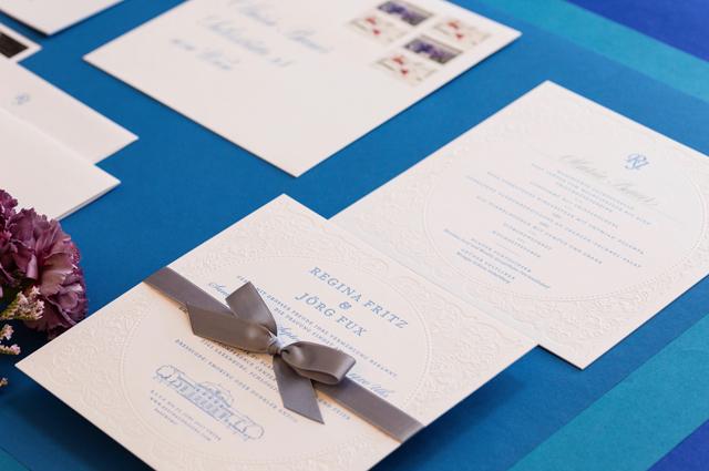 wedding letterpress