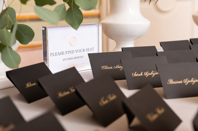 wedding escortcards
