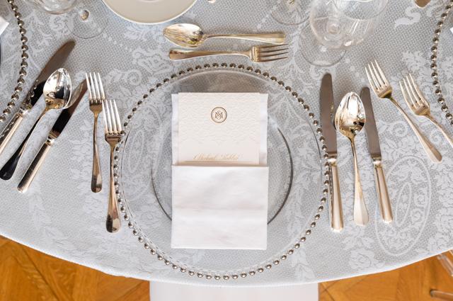 wedding menue card