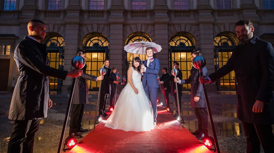 Hochzeit im Gartenpalais Liechtenstein